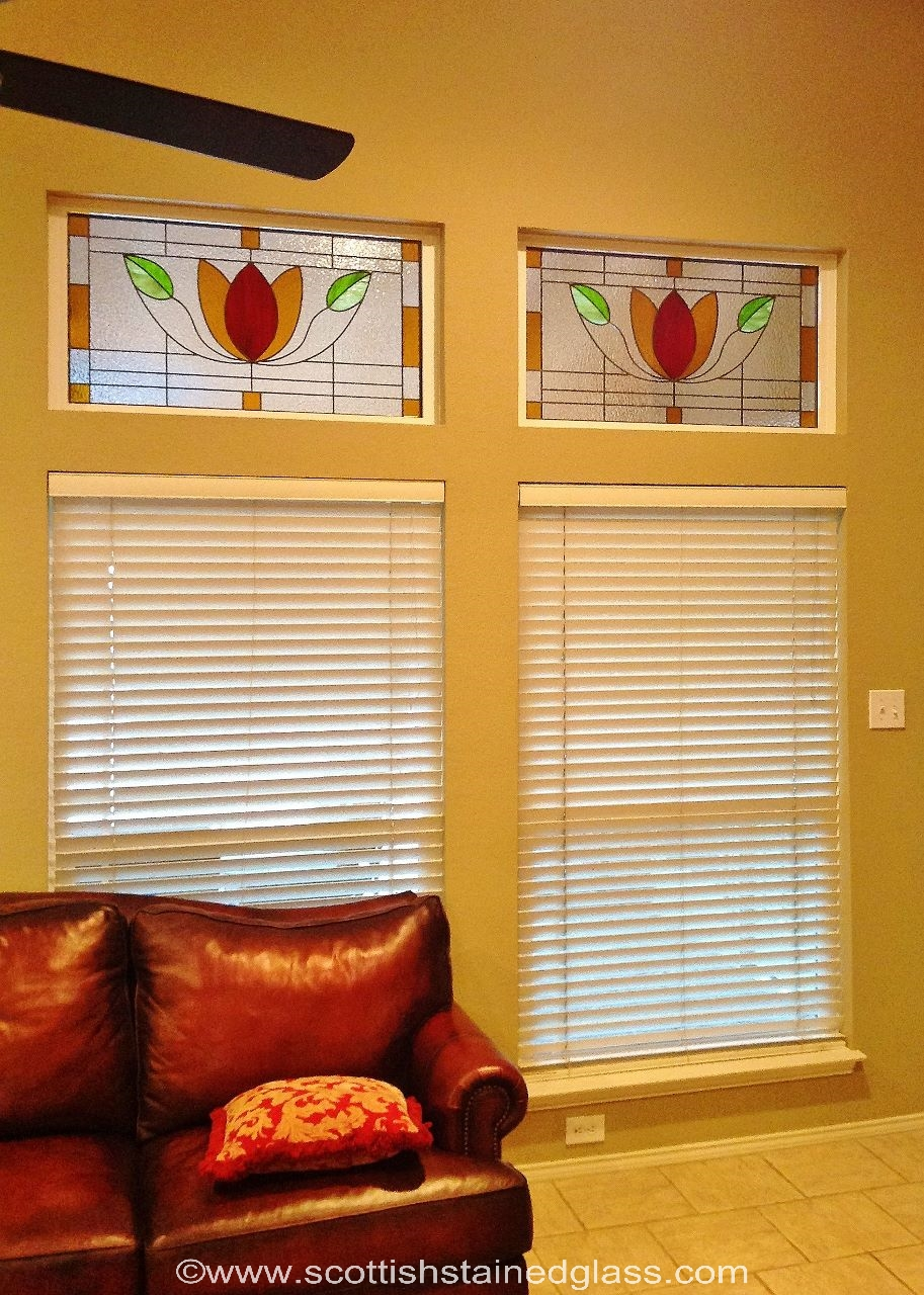 art nouveau - scottish stained glass - Houston Stained Glass ...