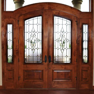 Entryway Stained Glass Houston