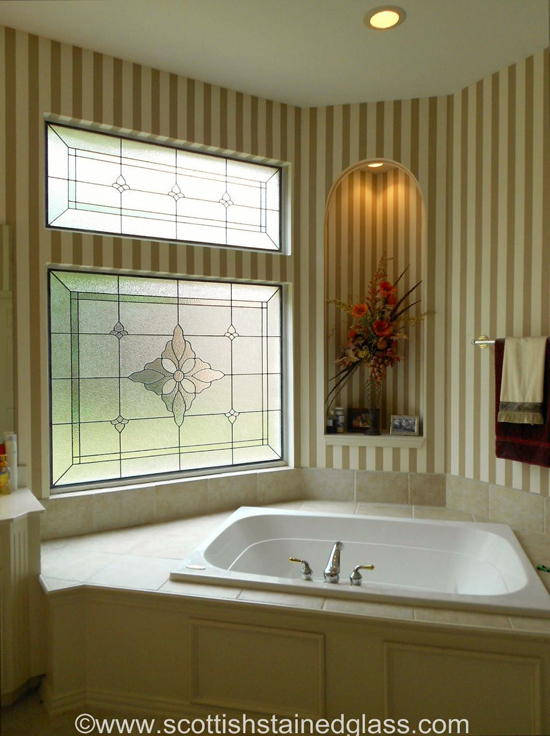 5 Beautiful Bathroom Stained Glass Windows for Your Houston Home ...