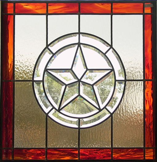 custom texas pride stained glass houston