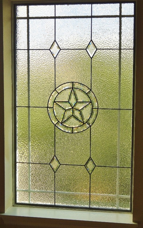 texas star stained glass window houston